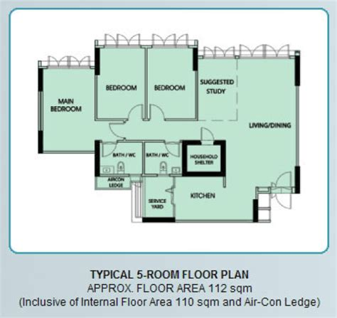 room floor plan new bto flats floor plan 5 room bto flat