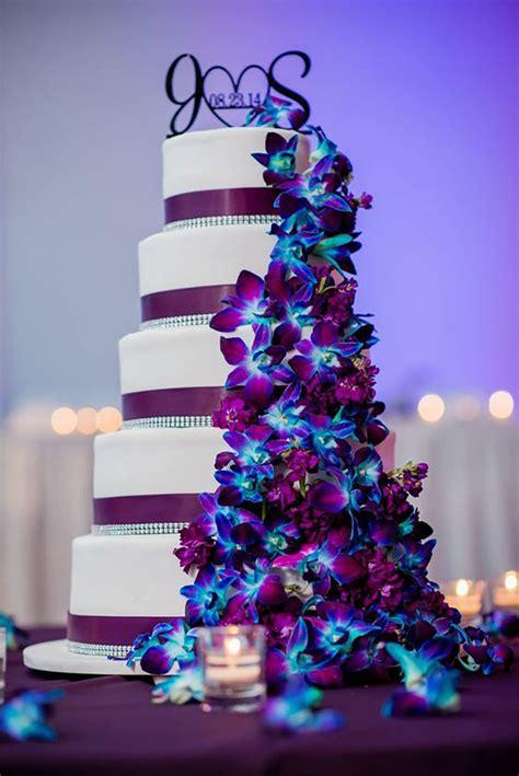 wedding ideas  colour blue  purple wedding theme
