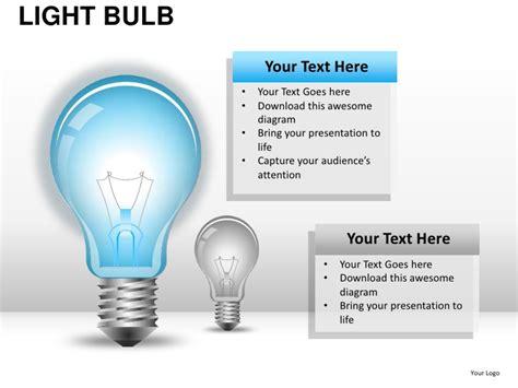 light bulb powerpoint template light bulb powerpoint presentation templates