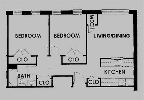 small 2 bedroom apartment floor plans 33 best images about floorplans on pinterest 1 bedroom