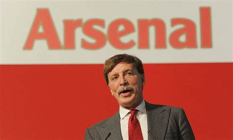 arsenal daily mail stan kroenke will watch arsenal tottenham daily mail online