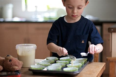 making cakes  childs play  ready  cupcake mix