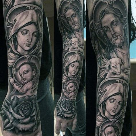 christian tattoo artists san diego impressive religious tattoo male sleeves tattos