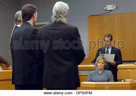 Gwinnett County District Attorney Search Sep 15 2006 Lawrenceville Ga Usa Tierney Right Holds Stock Photo