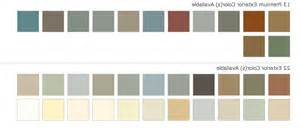 vinyl siding color chart mastic vinyl siding colors