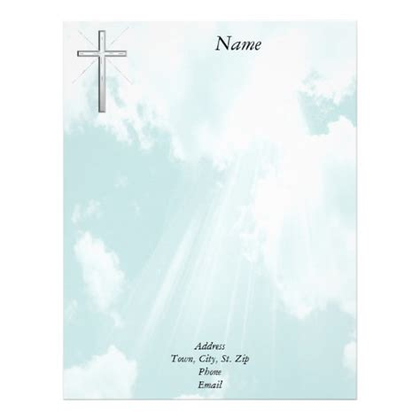 free professional letterhead templates christian letterhead zazzle