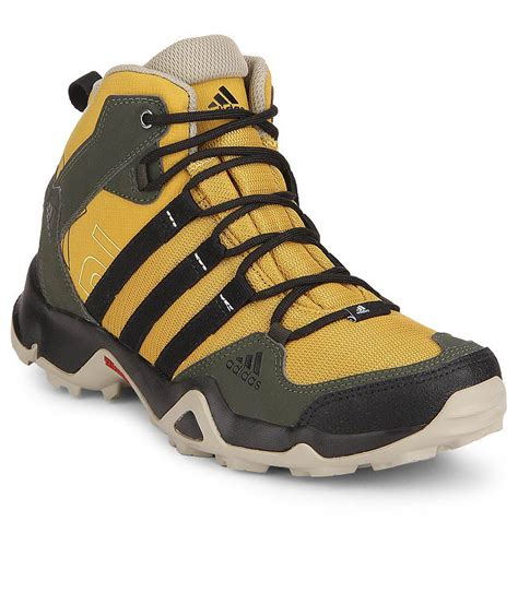 adidas sports shoes offers adidas ax2 mid yellow sports shoes snapdeal price casual
