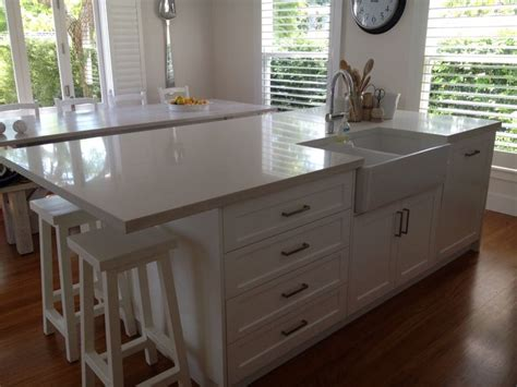 1000 ideas about kitchen island sink on sink