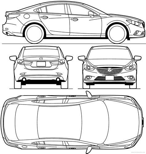 free blueprint car blueprint of mitsubishi outlander blue prints car