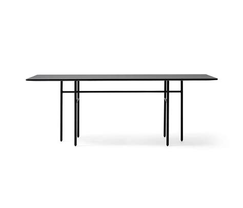 Black Rectangle Dining Table Snaregade Dining Table Rectangular Black Restaurant Tables From Menu Architonic
