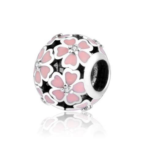 original 100 925 sterling silver pink enamel