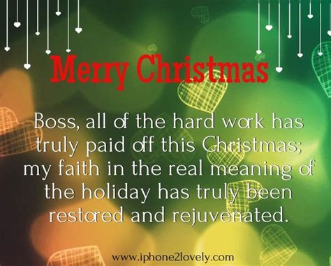 holiday wishes   boss merry christmas message message  boss christmas messages