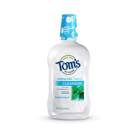 Where Can I Get Detox Mouthwash by Tom S Of Maine Cleansing Mouthwash At Smilox