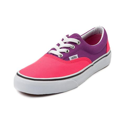 vans era purple vans era skate shoe pink purple from journeys