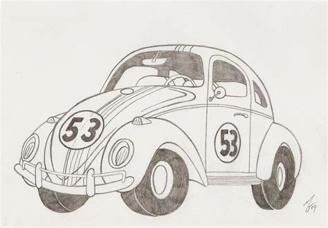 herbie the love bug by zombiegoon on deviantart
