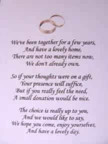 poem for wedding invite no gifts wedding invitation wording wedding invitation wording no gifts just money