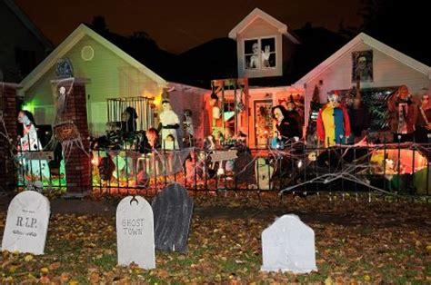 decorated homes for halloween halloween house decorations wholesale halloween