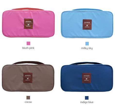 Korean Bra And Organizer pouch bag portable bra