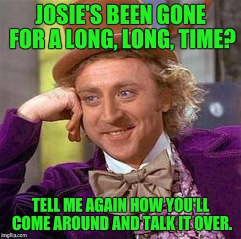 Me Love You Long Time Meme - creepy condescending wonka meme imgflip