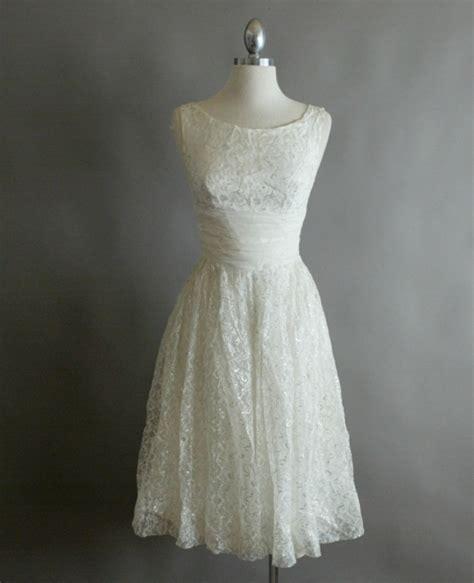 White Vintage Dress vintage cocktail dresses dressed up
