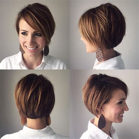 growing out pixie to stacked aline bob 37 best images about cabello tendencias on pinterest