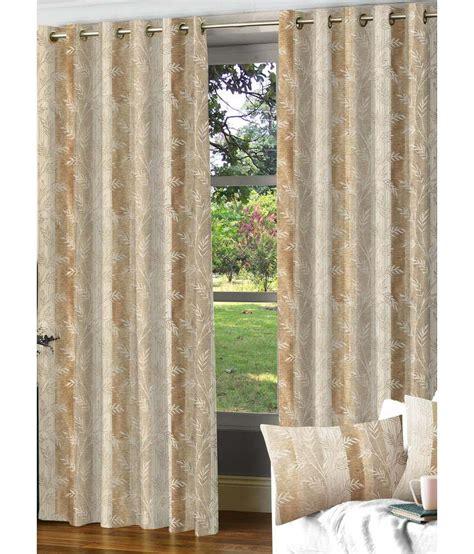 cream door curtain nuhome decor jacqaurd cream leaves polyester door curtain