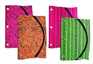 Binder Tribal Best Seller 20ring inkology tribal 3 ring binder pencil pouch 10 x 7 inches color will vary 1 count 408 0