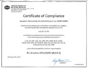 Certification Letter Definition Rohs Compliant Certification Definition What Is Rohs