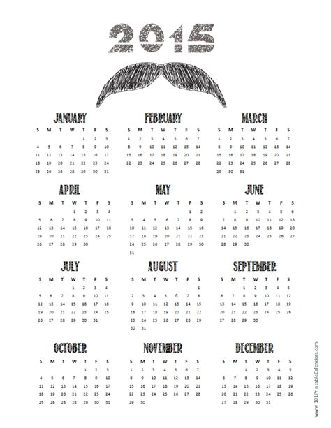 printable monthly calendar 2015 black and white 8 best images of black and white 2015 weekly planner