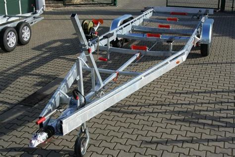 boot trailer maximale breite bootsanh 228 nger bootstrailer f 252 r motorboote 3500 kg 3 5 t