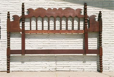 antique king size headboard wonderful antique red painted king size headboard bed from
