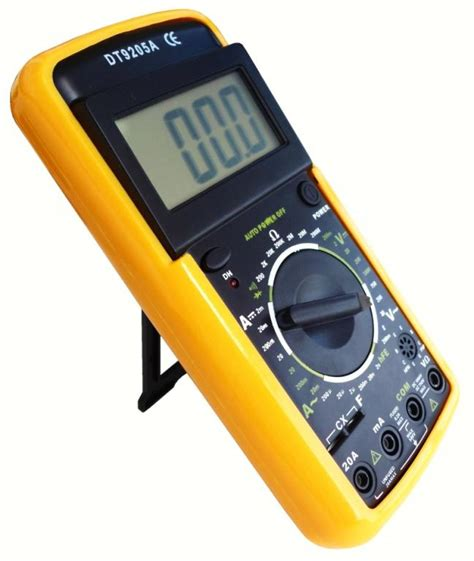 Multimeter Digital Dt9205a test equipment digital multimeter dt9205a was sold for