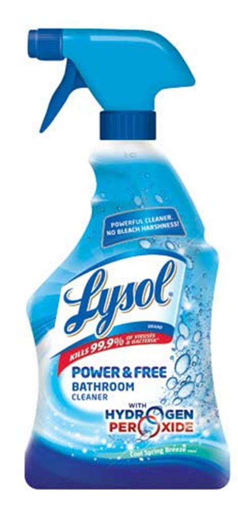 amazoncom lysol power   bathroom cleaner  ounce health personal care