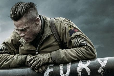 army haircut fury brad pitt s fury hairstyle