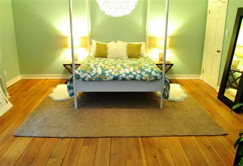bedroom rugs for hardwood floors that s the way uh huh uh huh we like it young house love