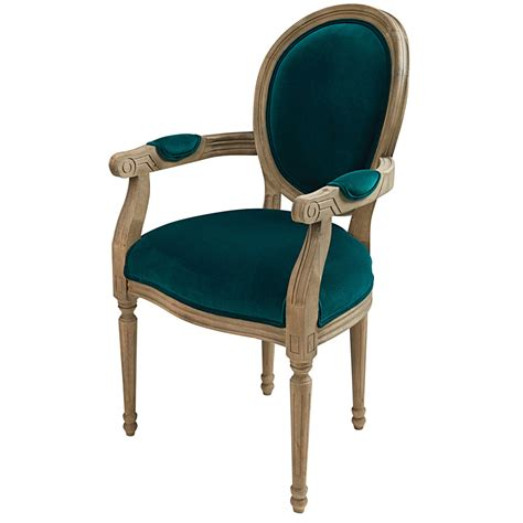 fauteuil bleu canard fauteuil cabriolet en velours bleu canard louis maisons du monde