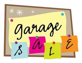 a garage sale imconfident