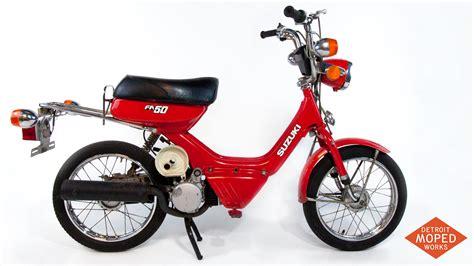 Suzuki Moped Bikes 1985 Suzuki Fa50 Shuttle Kickstart Noped Sold