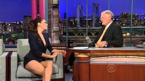 eva longoria flashes david letterman with her quot avocados