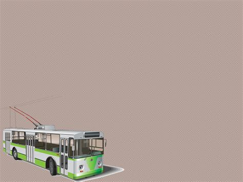 powerpoint templates transportation transportation tram vector ppt backgrounds transportation