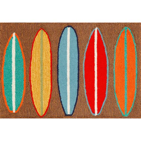 Surf Board Rug by Surfboards Indoor Out Door Rug