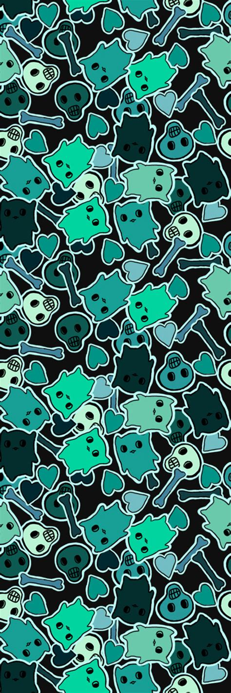 safe as houses skulls n cats custom box background by safe as houses on deviantart