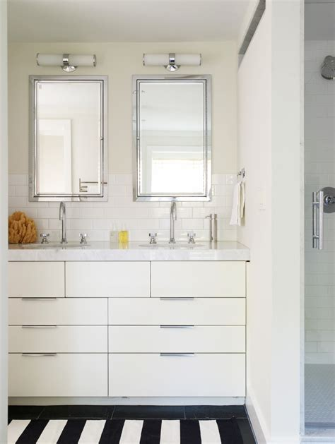double sinks for small bathrooms small bathroom vanity double sinks white small room