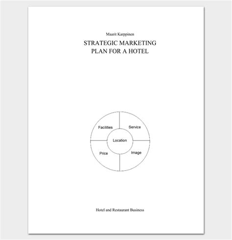 hotel marketing plan template hotel marketing plan template 6 sles for word pdf