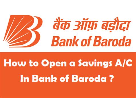 how to open a bank account in a foreign country how to open a savings account in bank of baroda