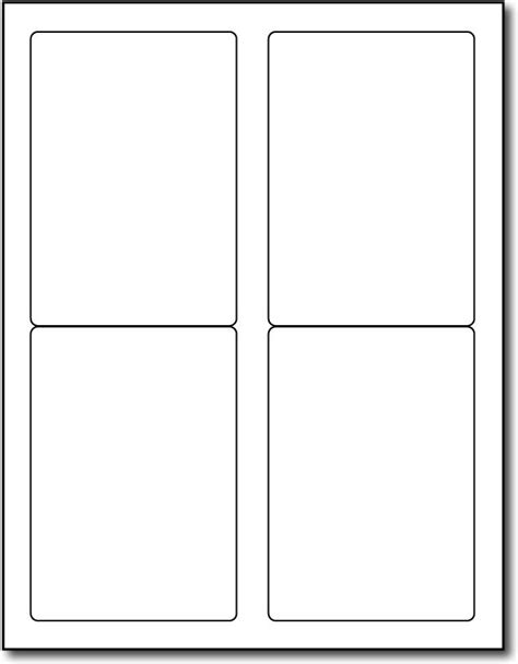 printable labels 2 x 3 4up 3 5 quot x 5 quot labels 1000 labels desktopsupplies com