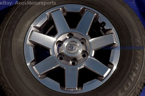 2014 Toyota Tundra Wheel Bolt Pattern 2014 Toyota 4runner Oem Factory 17 Quot Trd Trail Ed Wheels