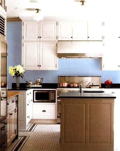blue painted kitchen walls winda 7 furniture