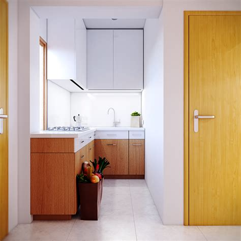 Ideas For Small Apartment Kitchens warm contemporary interiors
