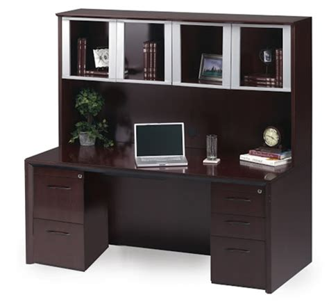 Home Office Desk And Hutch by Aspen Essex Home Office Credenza Hutch L Shaped Desk
